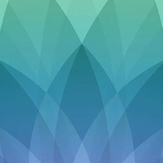 Apple春イベント緑青紫の iPhone5s / iPhone5c / iPhone5 壁紙