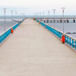 風景海橋の iPhone5s / iPhone5c / iPhone5 壁紙