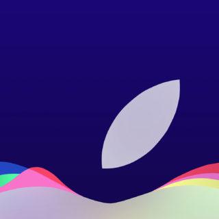Appleロゴイベント紫の iPhone5s / iPhone5c / iPhone5 壁紙