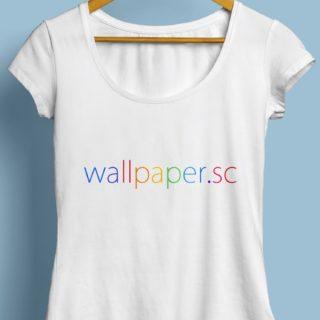wallpaper.sc Tシャツ 水色の iPhone5s / iPhone5c / iPhone5 壁紙