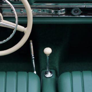 車運転席緑の iPhone5s / iPhone5c / iPhone5 壁紙