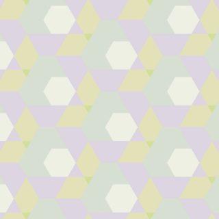 幾何学模様青紫の iPhone5s / iPhone5c / iPhone5 壁紙