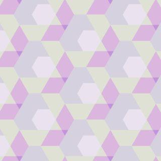 幾何学模様赤黄の iPhone5s / iPhone5c / iPhone5 壁紙