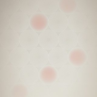 模様グラデーション丸赤の iPhone5s / iPhone5c / iPhone5 壁紙