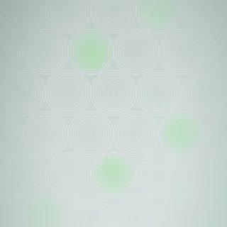 模様グラデーション丸緑の iPhone5s / iPhone5c / iPhone5 壁紙