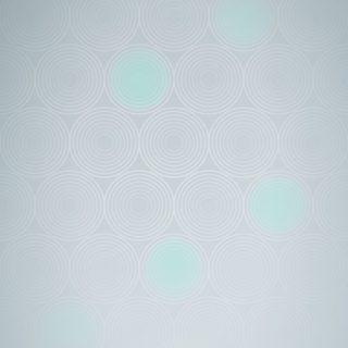 模様グラデーション丸青緑の iPhone5s / iPhone5c / iPhone5 壁紙