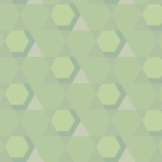 幾何学模様黄緑の iPhone5s / iPhone5c / iPhone5 壁紙