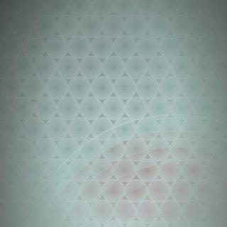ドット模様グラデーション丸青緑の iPhone5s / iPhone5c / iPhone5 壁紙