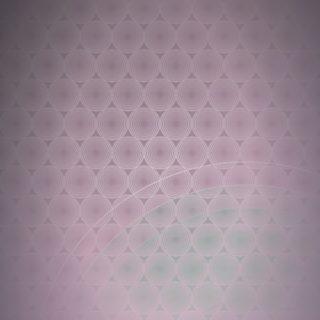 ドット模様グラデーション丸赤の iPhone5s / iPhone5c / iPhone5 壁紙