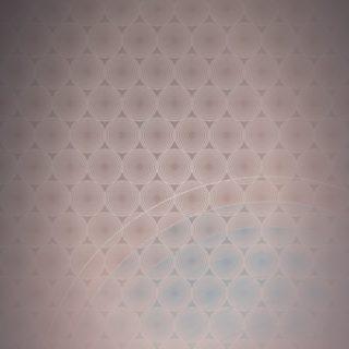 ドット模様グラデーション丸橙の iPhone5s / iPhone5c / iPhone5 壁紙