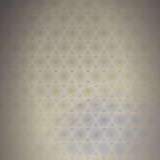 ドット模様グラデーション丸黄の iPhone5s / iPhone5c / iPhone5 壁紙