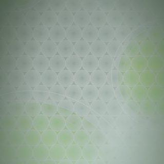 ドット模様グラデーション丸黄緑の iPhone5s / iPhone5c / iPhone5 壁紙