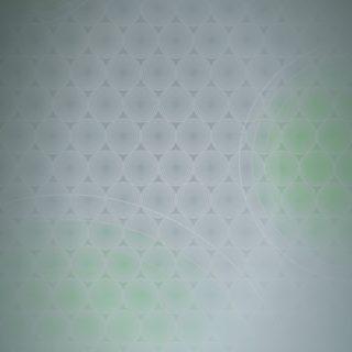 ドット模様グラデーション丸緑の iPhone5s / iPhone5c / iPhone5 壁紙