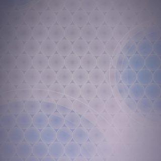 ドット模様グラデーション丸青の iPhone5s / iPhone5c / iPhone5 壁紙