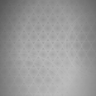 ドット模様グラデーション丸灰の iPhone5s / iPhone5c / iPhone5 壁紙