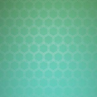 グラデーション模様丸青緑の iPhone5s / iPhone5c / iPhone5 壁紙