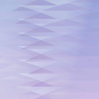 グラデーション模様三角青紫の iPhone5s / iPhone5c / iPhone5 壁紙