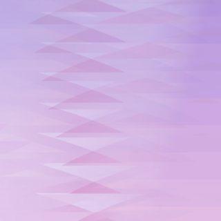 グラデーション模様三角紫の iPhone5s / iPhone5c / iPhone5 壁紙
