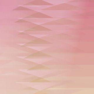 グラデーション模様三角赤の iPhone5s / iPhone5c / iPhone5 壁紙