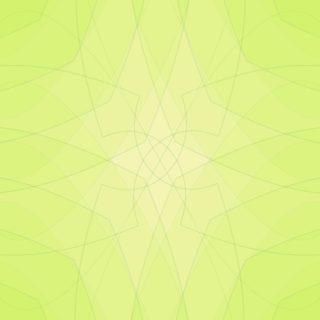 グラデーション模様黄緑の iPhone5s / iPhone5c / iPhone5 壁紙
