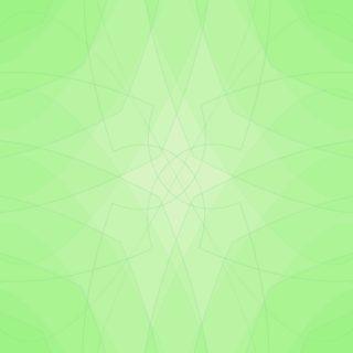 グラデーション模様緑の iPhone5s / iPhone5c / iPhone5 壁紙