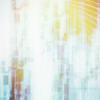 グラデーション黄青の iPhone5s / iPhone5c / iPhone5 壁紙