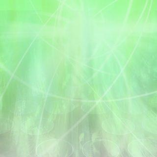 グラデーション丸緑の iPhone5s / iPhone5c / iPhone5 壁紙