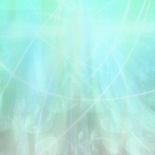 グラデーション丸水色の iPhone5s / iPhone5c / iPhone5 壁紙