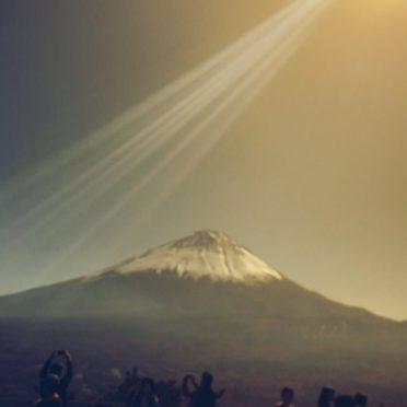 富士山 景色の iPhone6s / iPhone6 壁紙