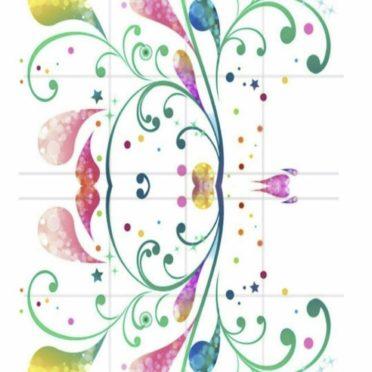 花 キュートの iPhone6s / iPhone6 壁紙