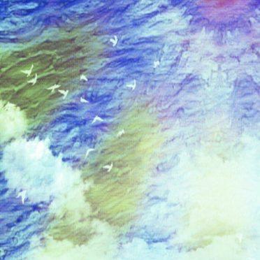 太陽 海の iPhone6s / iPhone6 壁紙