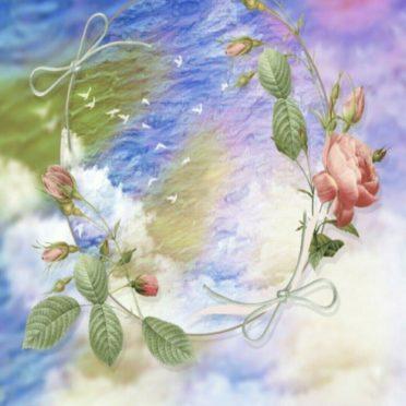 太陽 花の iPhone6s / iPhone6 壁紙