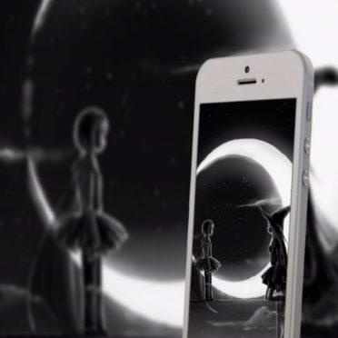 スマホ 月の iPhone6s / iPhone6 壁紙