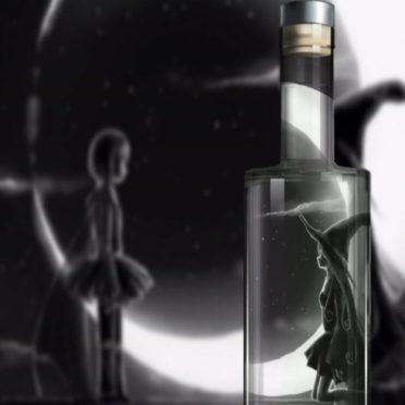 ボトル 魔女の iPhone6s / iPhone6 壁紙