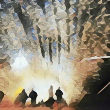 イルミネーション 光の iPhone6s / iPhone6 壁紙