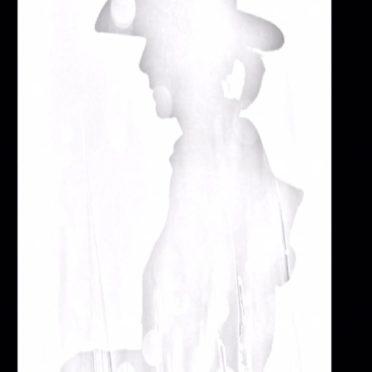 シルエット 男性の iPhone6s / iPhone6 壁紙
