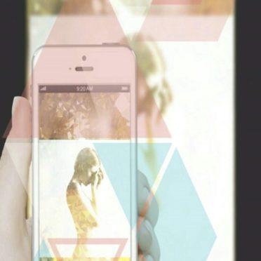 女性 スマホの iPhone6s / iPhone6 壁紙