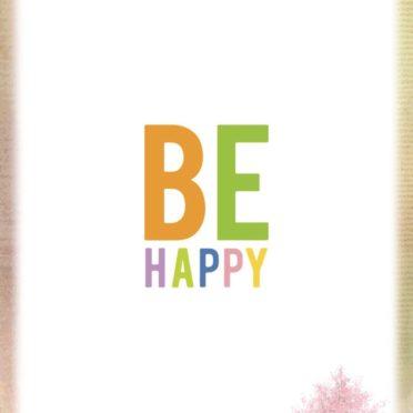 ハッピー 桜の iPhone6s / iPhone6 壁紙