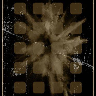 爆発 ブラウンの iPhone6s / iPhone6 壁紙