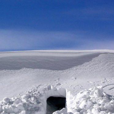 風景雪の iPhone6s / iPhone6 壁紙