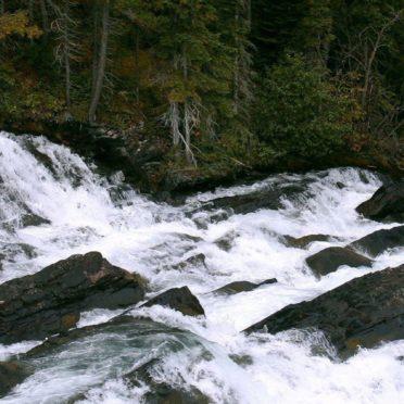 風景川の iPhone6s / iPhone6 壁紙