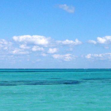 風景海の iPhone6s / iPhone6 壁紙