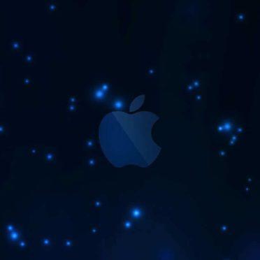 Apple青の iPhone6s / iPhone6 壁紙