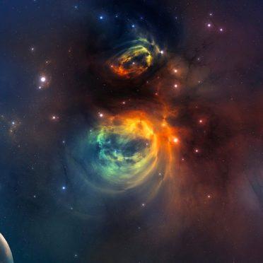 宇宙の iPhone6s / iPhone6 壁紙