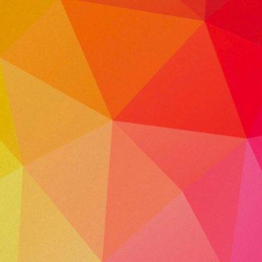 模様赤橙桃黄緑の iPhone6s / iPhone6 壁紙
