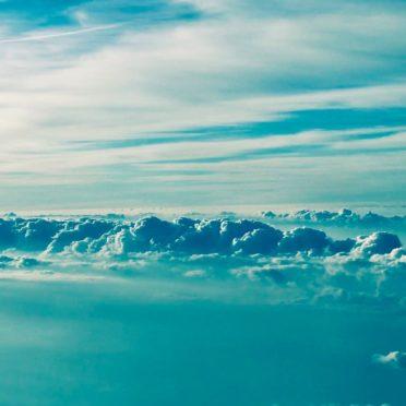 風景雲青の iPhone6s / iPhone6 壁紙