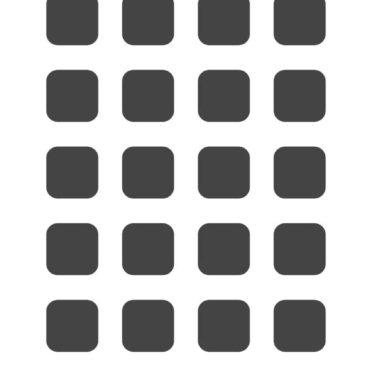 棚白灰黒の iPhone6s / iPhone6 壁紙