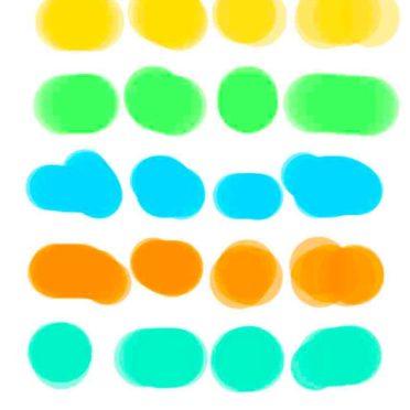 棚カラフルポップの iPhone6s / iPhone6 壁紙