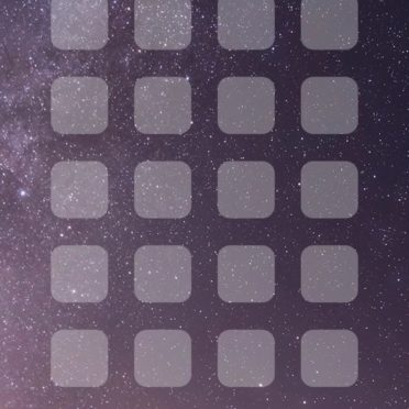 風景雪山夜空棚の iPhone6s / iPhone6 壁紙