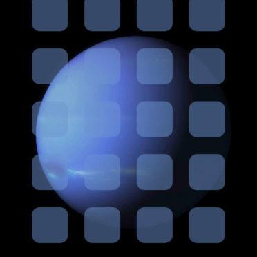宇宙惑星青棚の iPhone6s / iPhone6 壁紙